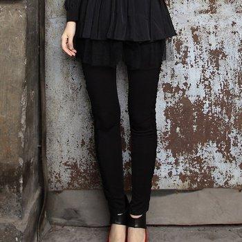 Free shipping Summer/spring high quality all-match black  legging