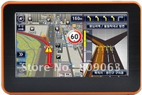 Free Shipping 4.3 Inch Touch Screen Windows CE 6.0 GPS Navigator with Bluetooth and SD USB Speaker Slots, 4GB TF Card