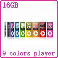 New 2013 16GB 1.8 inch TFT 4th gen FM Radio voice recorder mp3 mp4 player free gift, free ship