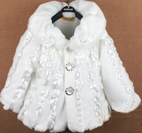 Free Shipping ! Solid color aristocratic ladies children cape jackets .