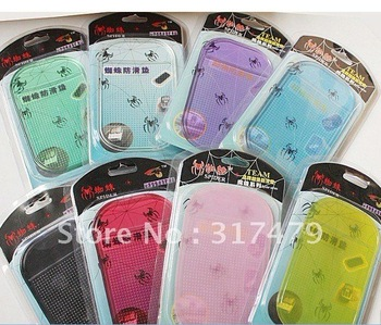 Wholesale Magic Sticky Pad Car Used Sticky Powerful Silica Gel Anti-Slip Mat for Phone PDA mp3 mp4 Freeshipping 50pcs/lot