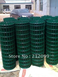 PVC coated or hot dip galvanized, field fencings,welded wire mesh, fence mesh for the agriculture,50*50mm(China (Mainland))