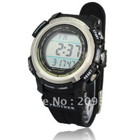 luxury sport men's wrist watch 50m waterproof electronic quartz digital display PRG1103 1 piece HK post free shipping