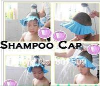 NEW Safe Shampoo Shower Bath Cap for Baby Children  20pcs/lot