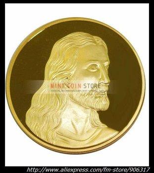 New design Gold Clad Jesus coin  1pcs/lot