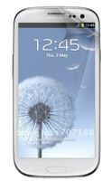 New clear LCD screen guard fim protector for Samsung i9300 Galaxy S 3 SIII with  retail package ,free shipping!!