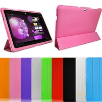 Free Shipping Newest For Samsung Galaxy GT-P7500 P7510 cover,Smat Cover Case ,For Samsung Galaxy Tab 10.1 UtraThin Case