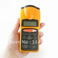 free shipping CP3007 Ultrasonic Infrared Distance Meter Laser Distance Tester