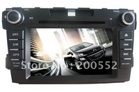 7 inch 2 DIN car DVD GPS Navigation special for MAZDA CX-7 with Digital TV DVB-T Bluetooth IPOD Radio SWC