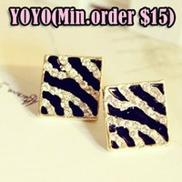 Wholesale Free Shipping Min.order is $15 (mix order) Mix Wholesale shiny bow-knot-wings-earrings / fashion earring , Gift  es010