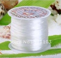 free shipping 5pcs/lot 80m/pcs DIY  Beading Stretch Elastic Cord,Elastic String,Good Elasticity. Hard To Broke. 0.6mm