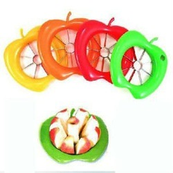Free Shipping,Apple Cutter,Corer,Divider, fruit Chopper,TV hot product!HOME apple cutter /apple slicer(China (Mainland))