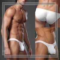 Men n2n sexy low waist convex bursa bag bikini triangular briefs,WYB160, Size S M L,Wholesale and retail!