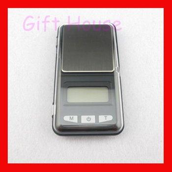 Free shipping 200g x 0.01g Digital Jewelry Pocket GRAM Balance Scale 5pcs/lot  DS0081