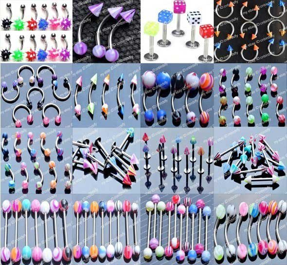 cnbirdsfly jewelry wholesale ebay rhinestone cln chic lip jewellery belly tongue body on piercing s collection