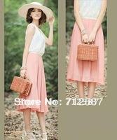 New Version Bohemian lace chiffon dress#5179