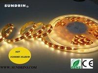 $10 off per $100 [Sundrin] high quality SMD3528 flexible led light strip led tape 25M 300led white/warm white/rgb free shipping