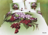 Hot Fashion New  Beautiful 100% Cotton 4pc Doona Duvet QUILT Cover Set bedding set Queen/  King size GREEN