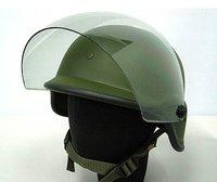 US SWAT Paintball M88 PASGT Kevlar Helmet w/ Visor OD free ship
