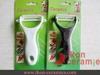 Free shipping! High Quality Ikon Ceramic Peeler (Black and White) a skin machine a porcelain and ceramic to plane knife (