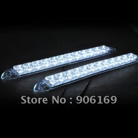 Car 12-LED DRL Driving Daytime Running Day LED Light Head Lamp Super White