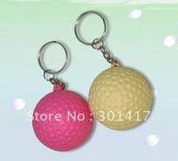 PU STRESS  Golf ball keychainPROMOTION