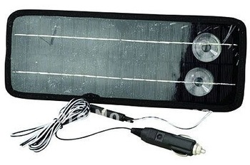 Free Shipping 12V System 4.5W Portable Solar Panel for Car Boat Motorcycle Motor Vehicle Charger