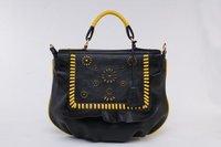 Hot sale Genuine Hollow Carving Cowhide Leather Handbag Shoulder bag,totes OUOVO HDC001