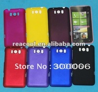 100pcs/lot Rubber Hard Case Cover for HTC Titan X310E