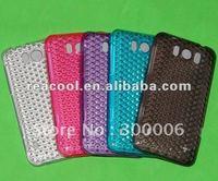 100pcs/lot Crystal Soft TPU Gel Case for HTC Titan X310E
