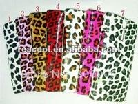 100pcs/lot Leopard Pattern back hard rubber corver case for sony Xperia S Xperia Arc HD Nozomi LT26i