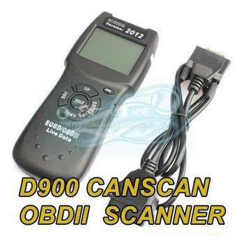 D900 CANSCAN OBD2 Live PCM Data Code Reader Scanner CAN Protocol Car Diagnostic