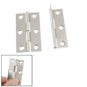 "Hardware Window Doors Interior Metal 2"" Long Hinge 20 pair"