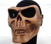 Seal Skull Skeleton Full Face Protector Mask Brown free ship
