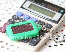 Mini Solar LED Keychain Light Mini Solar Torch Portable Mini Solar Emergency Lamp Solar Flashlight Free Shipping(China (Mainland))