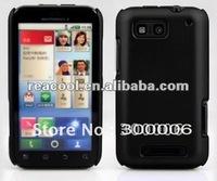 100pcs/lot Rubber Hard Case Cover for Motorola Defy MB525 ME525