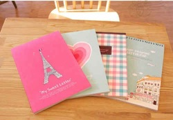 Free Shipping/ eiffel tower /letter paper(China (Mainland))