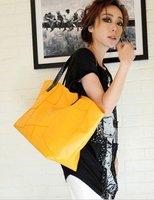 2012 large bag new bag casual shoulder pu handbag