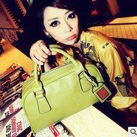 2012 new European style shoulder Portable pu handbag