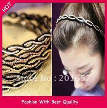 cheap black plastic headband