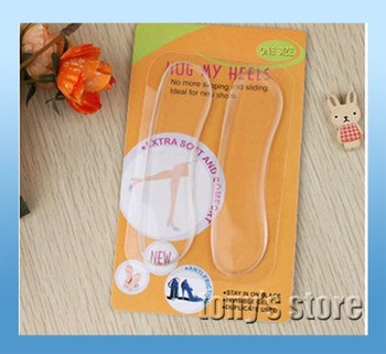 Whoesale hug my heels feet Protector no sliding& slipping silicone Repeatable Foot Protection with stickiness 20 pairs/lot