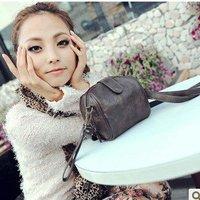 Summer new handbag Korean version of the simple wind lomo camera package pu handbag