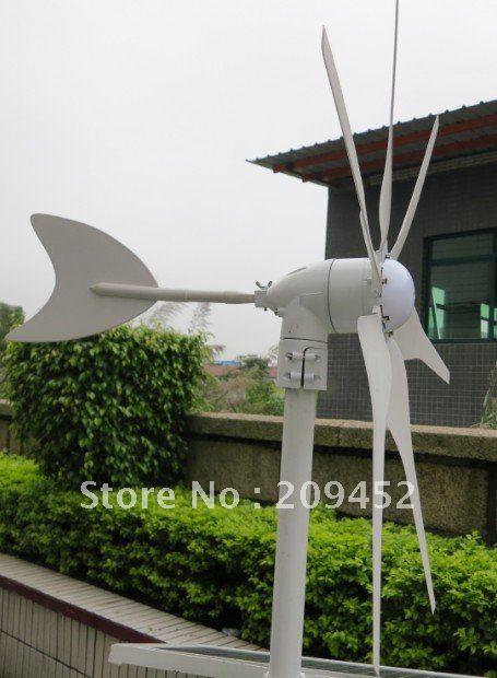 Home DC 12V/24V 300W horizontal wind power generator,portable wind turbine generator(China (Mainland))