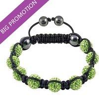 Christmas Gifts ! 2014 Shamballa Bracelets 10MM Wholesale New Shamballa Handmade Jewelry Bracelet Micro Pave CZ Disco Ball Bead