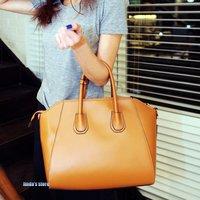 2012 summer new version of simple retro portable shoulder pu handbag