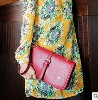 Summer models fashion wild handbag leisure Clutch Shoulder Messenger pu handbag