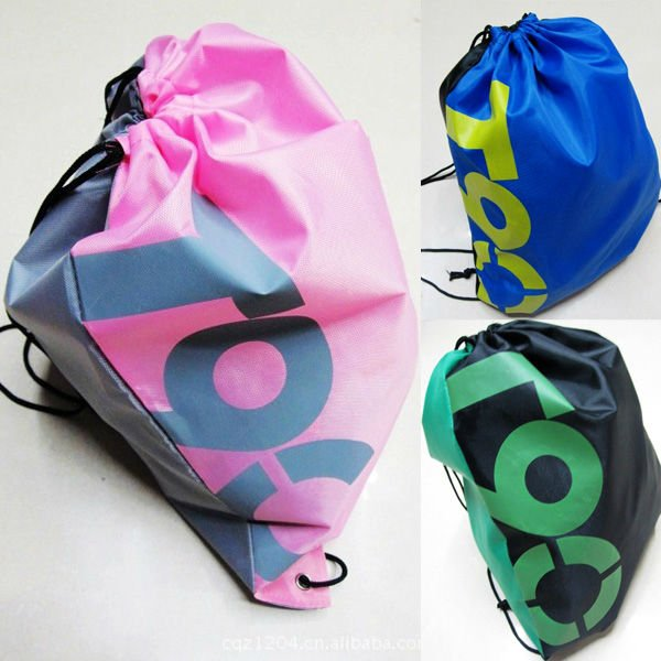 3 COLOR DRAWSTRING SWIMMING BEACH BAG 001(China (Mainland))