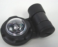 ELEMENT GREEN & IR LED VIP SAFETY SIGNAL STROBE LIGHT SEALS BLACK free ship