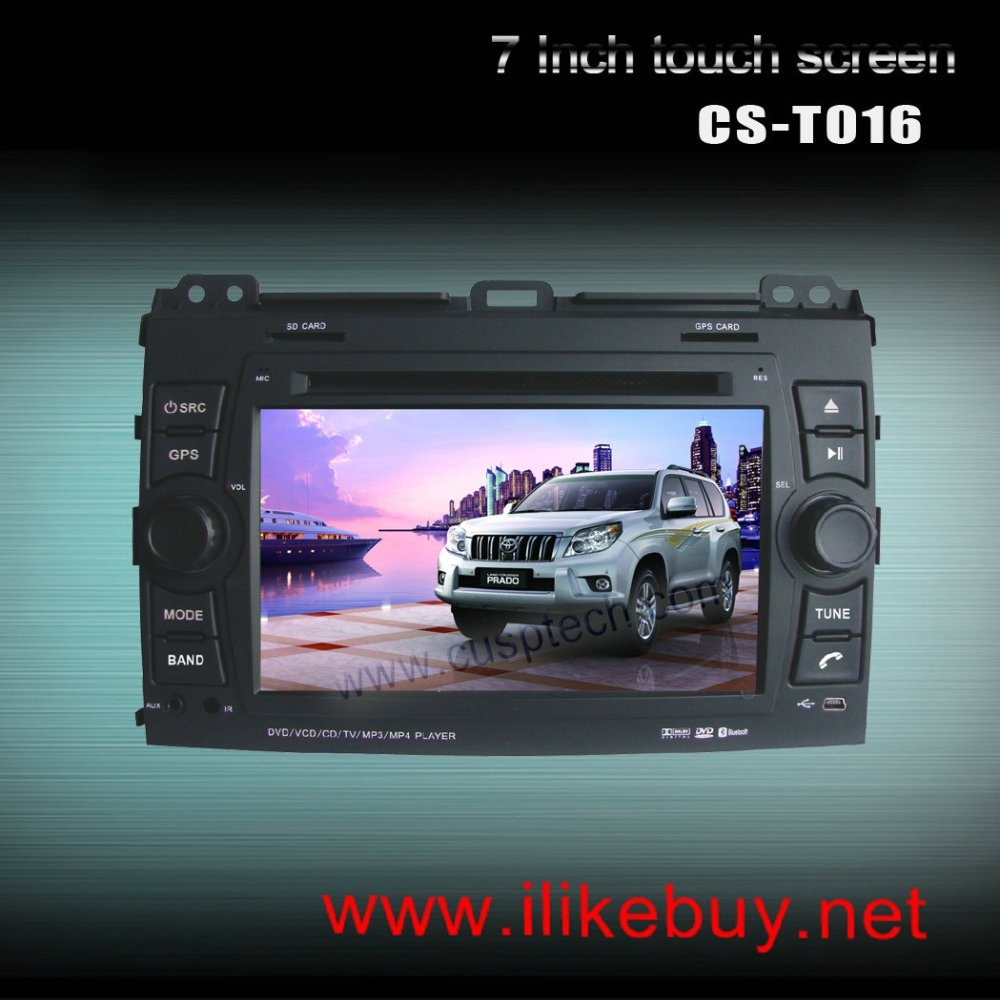 CS-T016 CAR DVD PLAYER WITH GPS FOR Lexus GX470 2002-2007(China (Mainland))