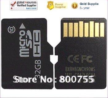 32G High Speed Class 32 GB Micro SD/ SDHC / TF Card 32GB Real Memory